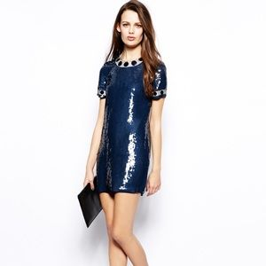 French Connection Cinderland sequin dress